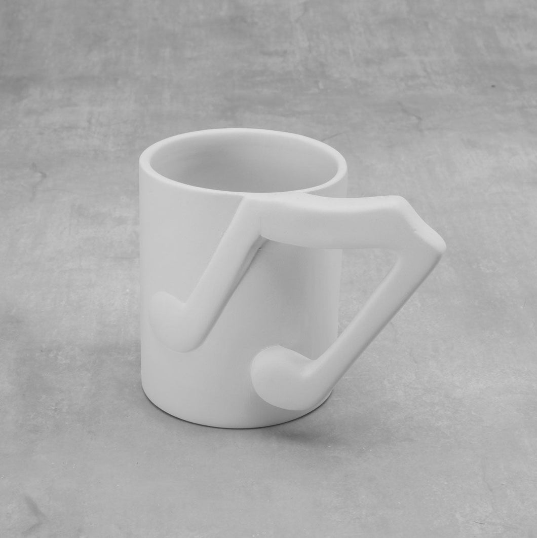 Music Note Mug  6cs