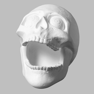 Skull Big Mouth  6cs