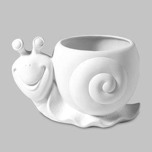 Snail Planter  3cs