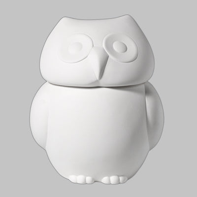 Owl Cookie Jar  3cs