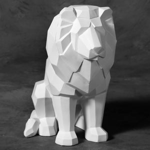Faceted Lion