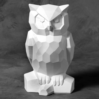 Faceted Owl
