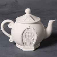 Teapot Fairy House  6cs