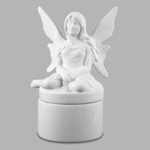 Large Butterfly Angel Box  12cs
