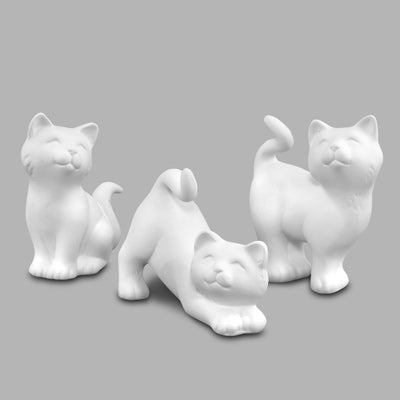 Curious Kittens (set of 3)