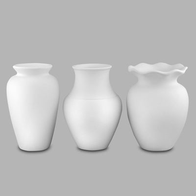 Great Shapes Vases (set of 3)  6cs