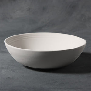 "9"" Stoneware Serving Bowl  6cs"