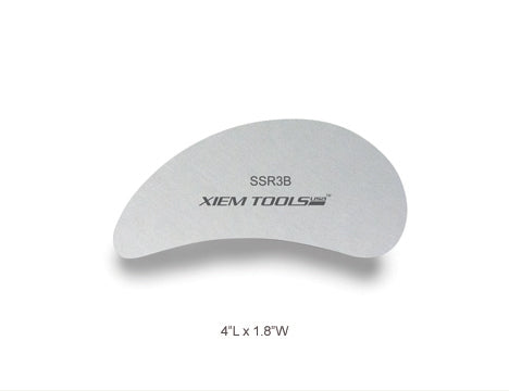Stainless Steel Clay Rib (M)