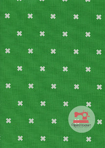 XOXO by Cotton + Steel Basics in Shamrock Yardage