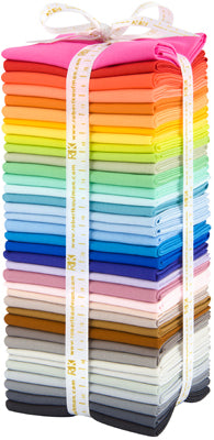 37 new Kona Cotton Colors for Robert Kaufman Fabrics Fat Quarter Bundle