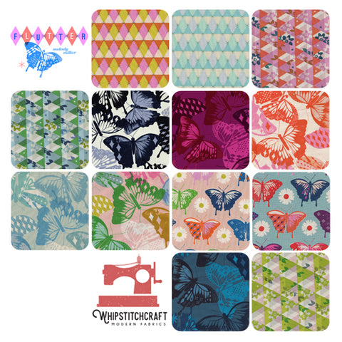 Flutter by Melody Miller for Cotton + Steel Fat Quarter Bundle