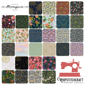 Menagerie by Rifle Paper Co. for Cotton + Steel Fat Quarter Bundle