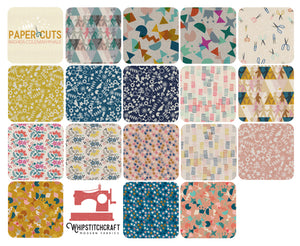 Paper Cuts by Rashida Coleman-Hale for Cotton + Steel Fat Quarter Bundle