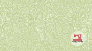 Scallop Dot from Chroma Basics by Rae Ritchie for Dear Stella in Celery