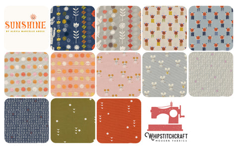 Sunshine by Alexia Marcelle Abegg for Cotton + Steel Fat Quarter Bundle
