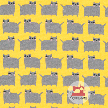 Yellow from Suzy's Minis 2 by Suzy Ultman for Robert Kaufman Fat Cats