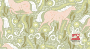 Unicorns from Fable by Rae Ritchie for Dear Stella in Meadow