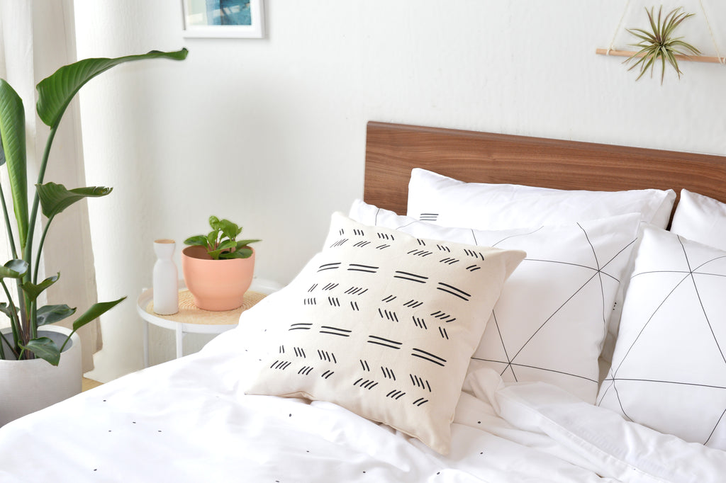 mosaic organic sateen pillow cases made fair trade