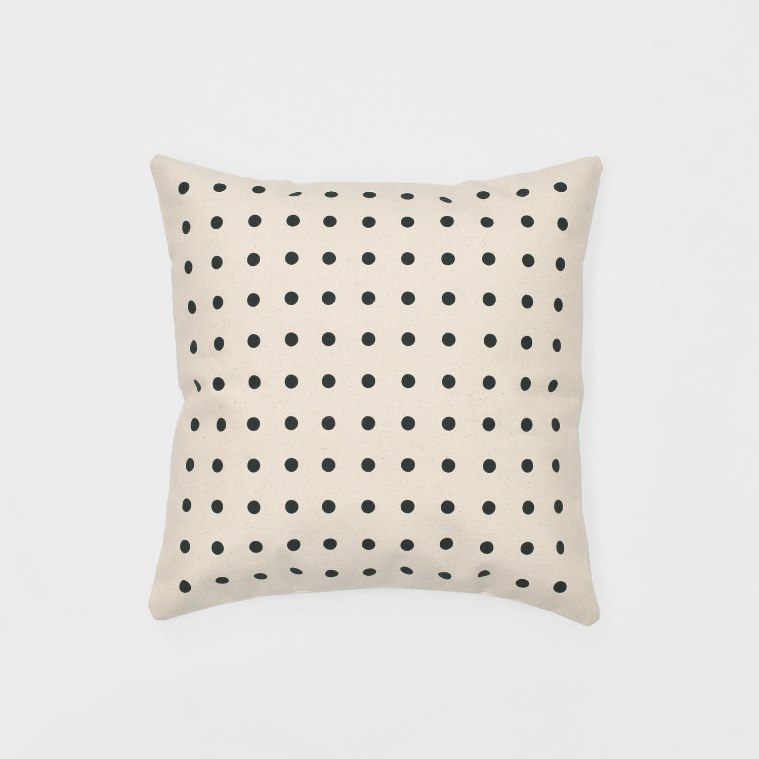 big dots bedding throw pillow organic cotton canvas