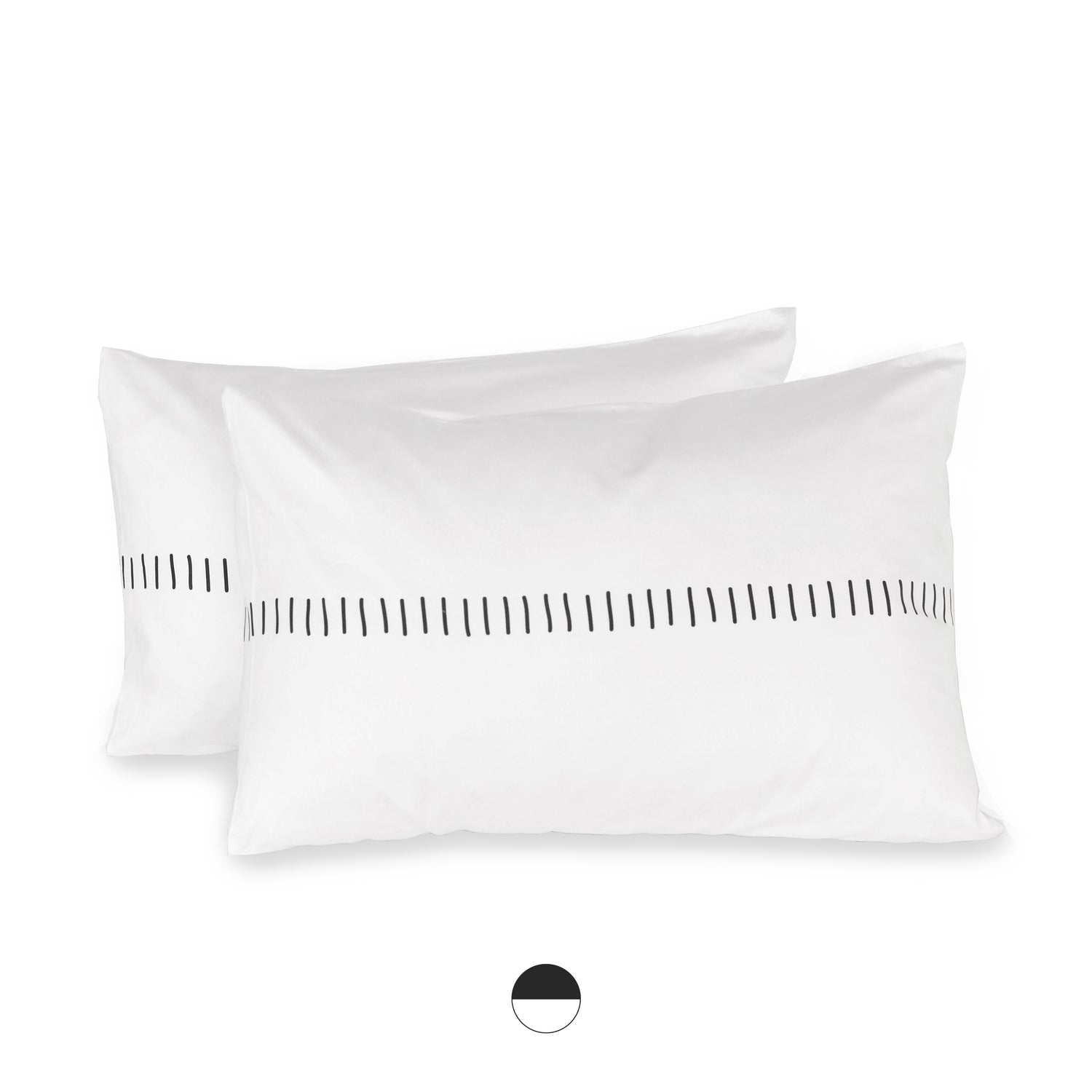 boardwalk organic sateen cotton pillow cases