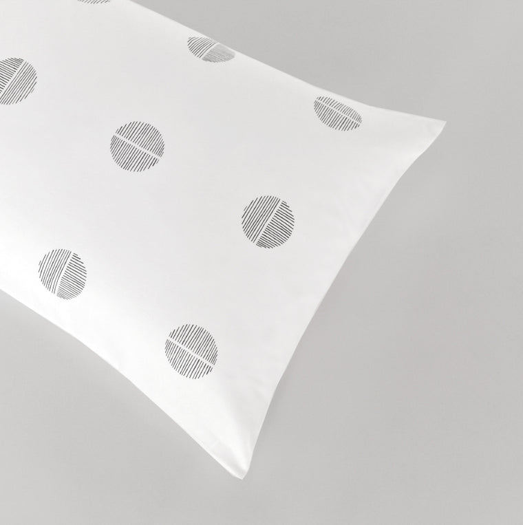 equinox organic sateen cotton pillow cases