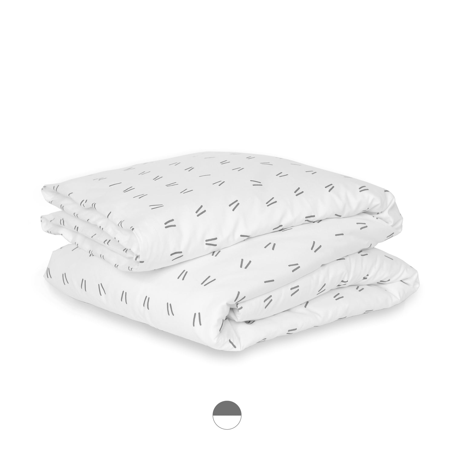drift organic sateen cotton duvet cover