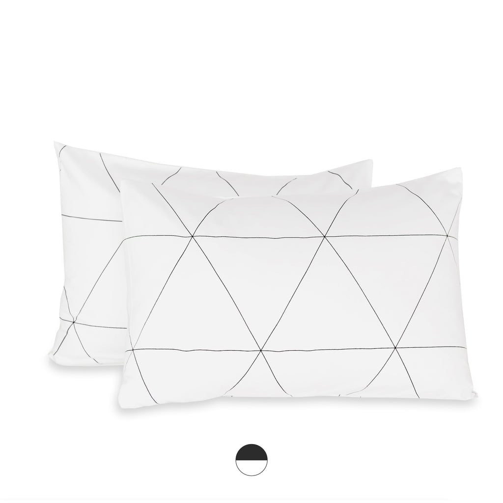 mosaic organic pillow cases