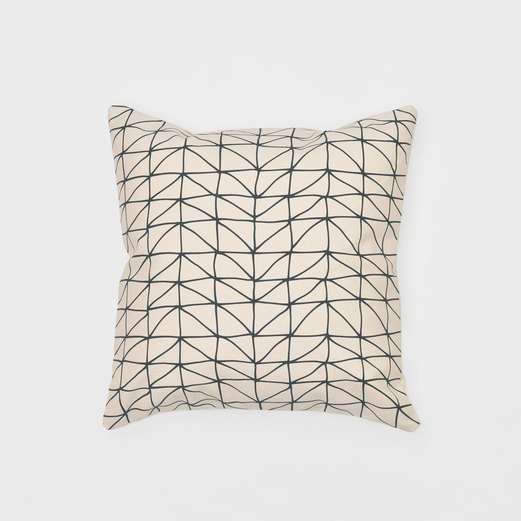 dream catcher bedding throw pillow - organic cotton canvas
