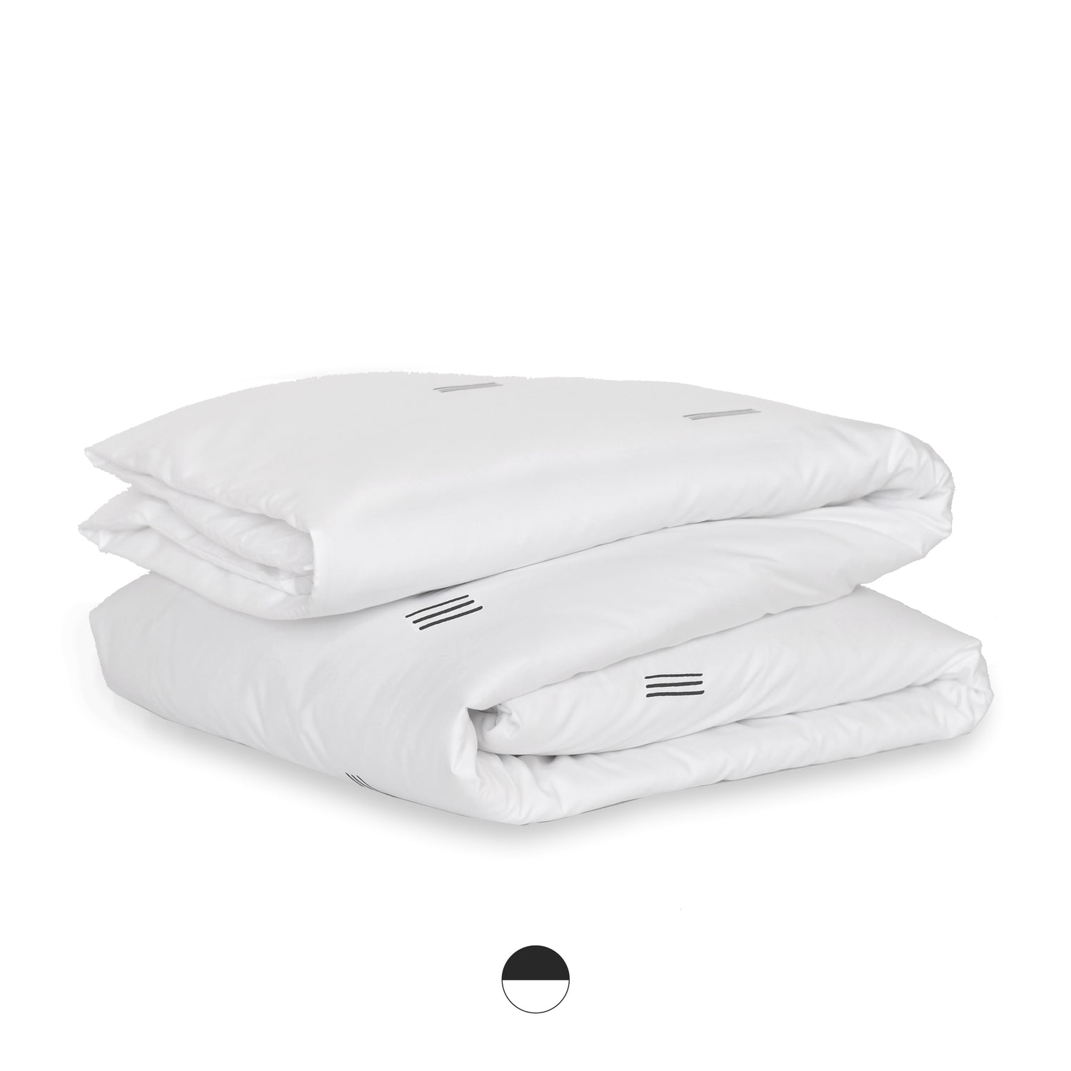 sonora organic sateen cotton duvet cover