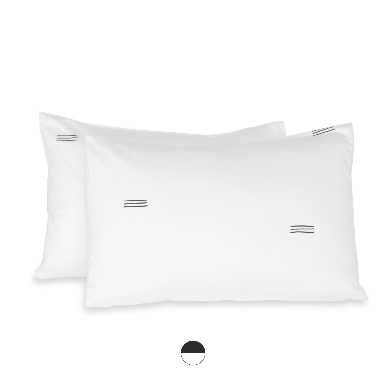 sonora organic sateen cotton pillow cases