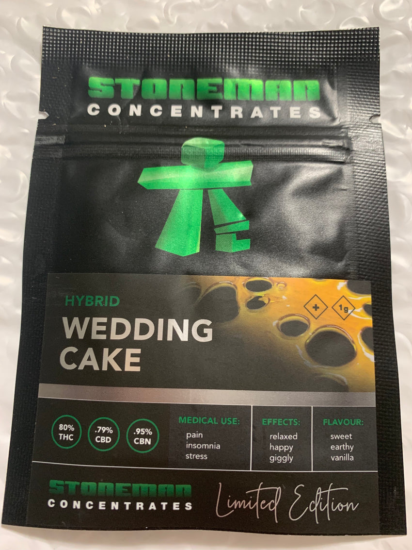 Wedding Cake LIMITED EDITION Stoneman Concentrates | Shatter Doctor