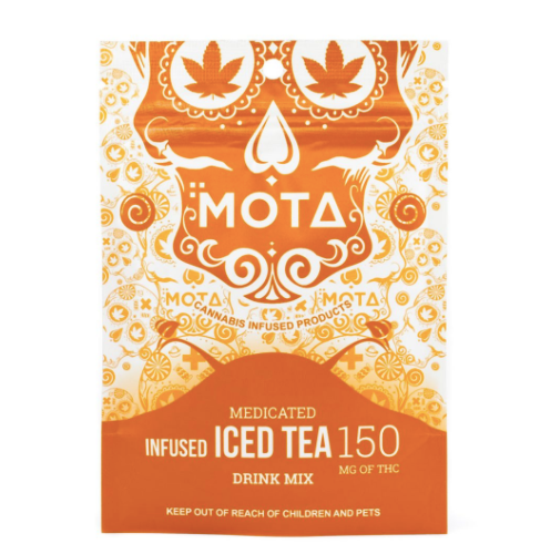 Mota Medicated Infused Iced Tea | Shatter Doctor