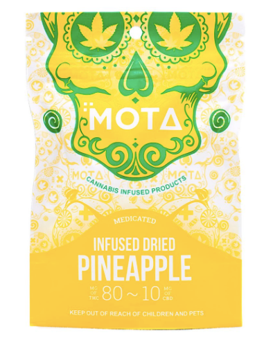 Mota Dried Pineapple | Shatter Doctor