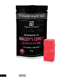 Watermelon Hailey's Comet Jelly Bomb -Twisted Extracts | Shatter Doctor