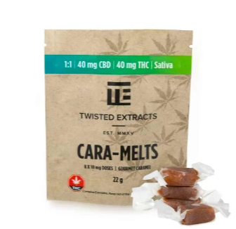 CBD Cara-Melts Twisted Extracts | Shatter Doctor