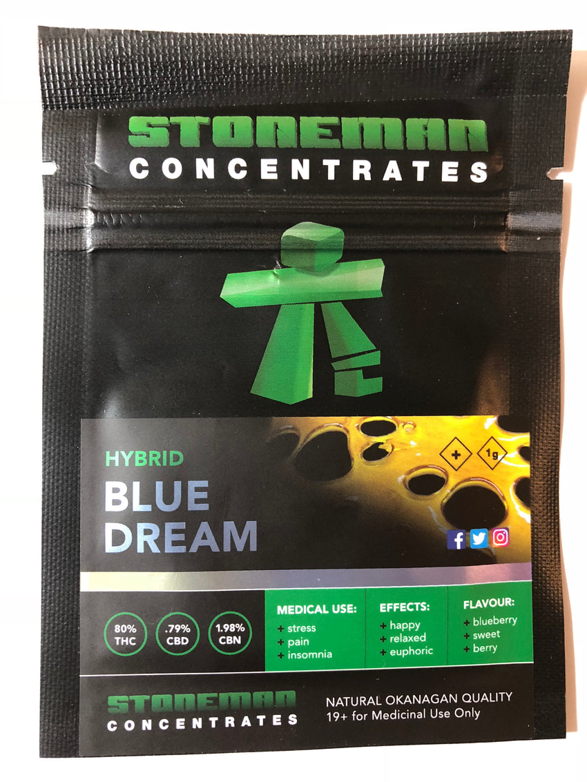 Stoneman Concentrates Blue Dream | Shatter Doctor