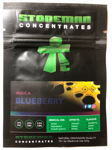Stoneman Concentrates Blueberry | Shatter Doctor