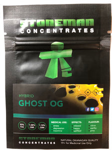 Stoneman Concentrates Ghost OG | Shatter Doctor