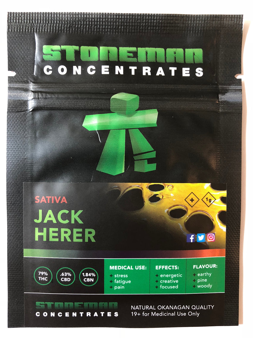 Stoneman Concentrates Jack Herer | Shatter Doctor