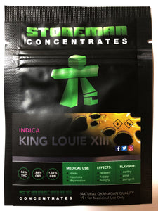 Stoneman Concentrates King Louie XIII | Shatter Doctor