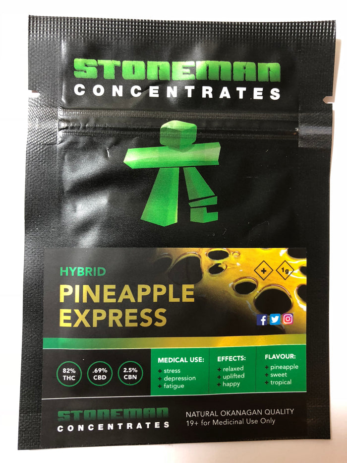 Stoneman Concentrates Pineapple Express | Shatter Doctor
