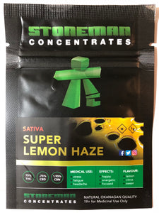 Stoneman Concentrates Super Lemon Haze | Shatter Doctor