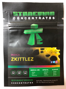 Stoneman Concentrates Zkittlez | Shatter Doctor