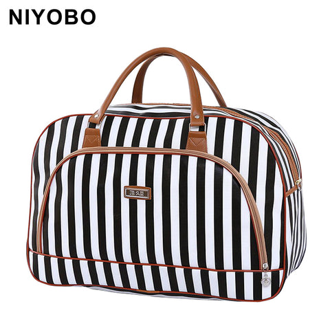 Pu Leather Large Capacity Waterproof Duffle Travel Bags