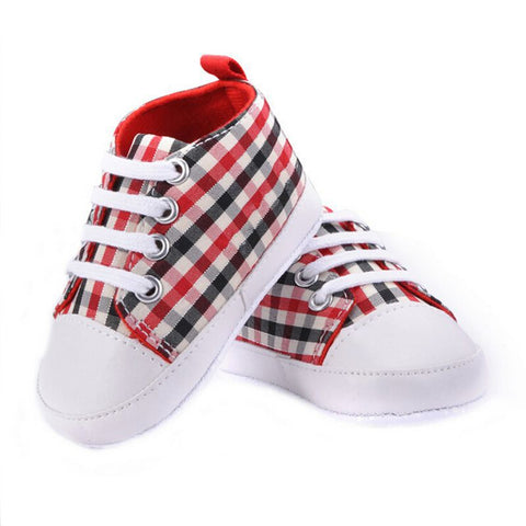 Baby Boys Girls Soft Sole Crib Casual Shoes Sneaker 0-18M - FKF Fashion