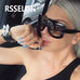 2017 Newest  Women Sunglasses Square Vintage style B - FKF Fashion