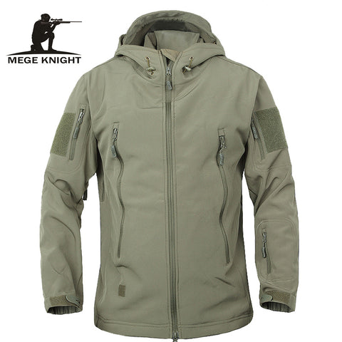 Military Jacket Waterproof Windbreaker Raincoat