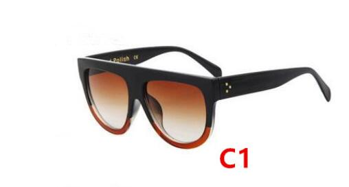 Oversized Cat Eye Sunglasses Women Vintage Luxury Sun Glasses