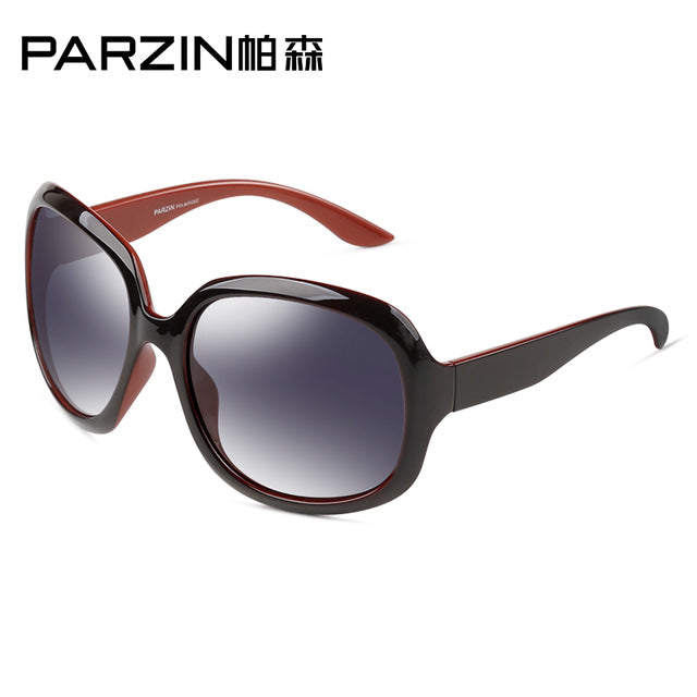 Square Elegant Female Spectacles Big Frame Driving Sun Glasses With Logo Box 6216