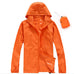 Unisex Quick Dry Skin Jackets Windbreaker Waterproof Windproof